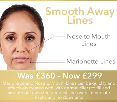 Smooth away Marionette and Nose to Mouth Lines